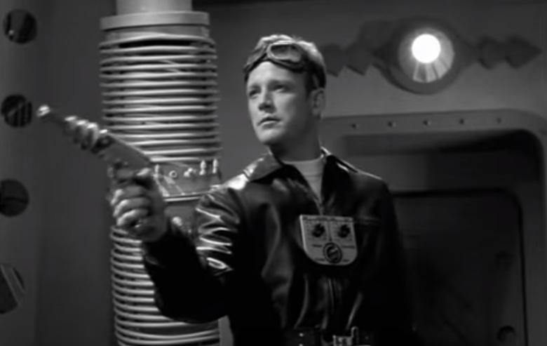 "Robert Duncan McNeil as Captain Proton in ""Star Trek: Voyager"""