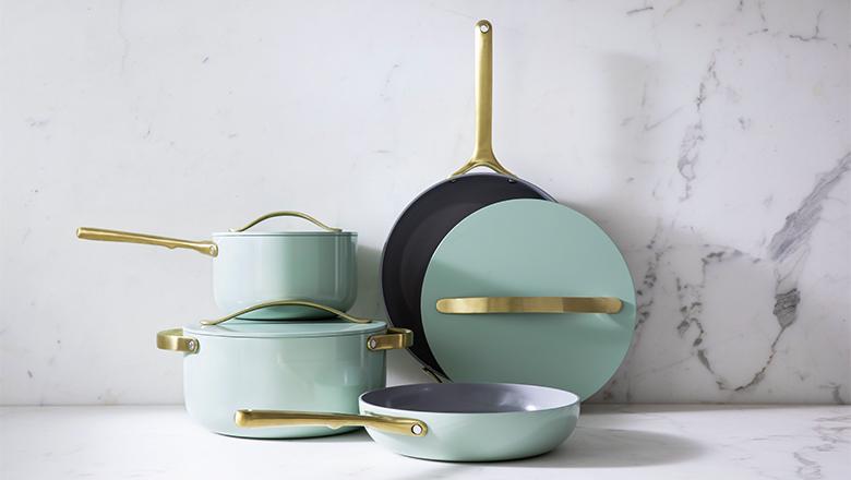 Caraway Silt Green Cookware