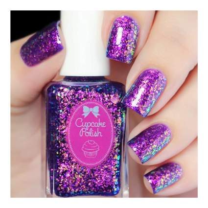 Cameleon flakie nail polish
