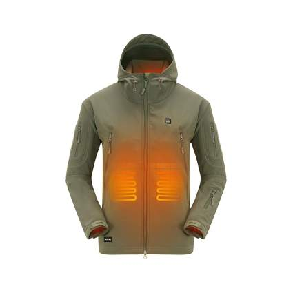 DEWBU Soft Shell Heated Jacket