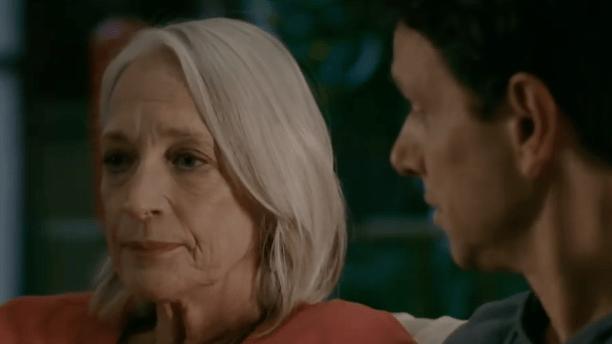 Daniel LaRusso and his mom