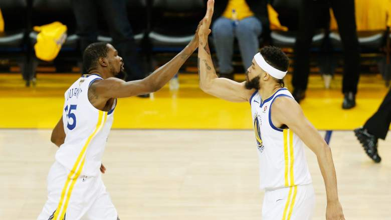 Kevin Durant Javale McGee
