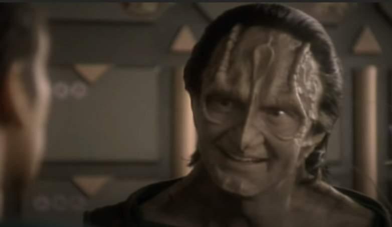 Andrew Robinson as Garak on Star Trek: Deep Space Nine