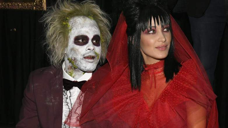 Singer The Weeknd and model Bella Hadid attend Heidi Klum's 19th Annual Halloween Party