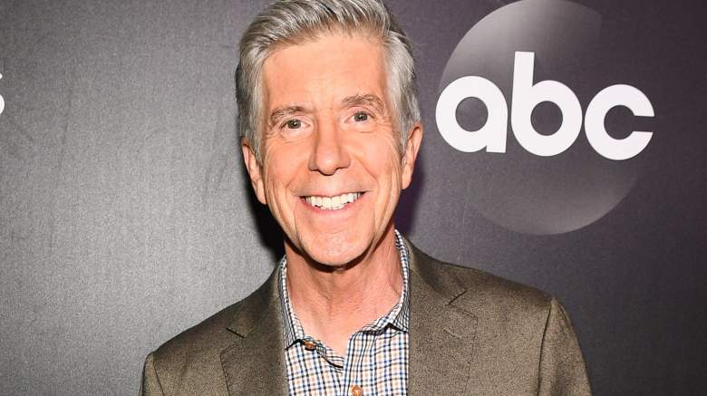"Host Tom Bergeron arrives at the 2019 ""Dancing With The Stars"" Cast Reveal"