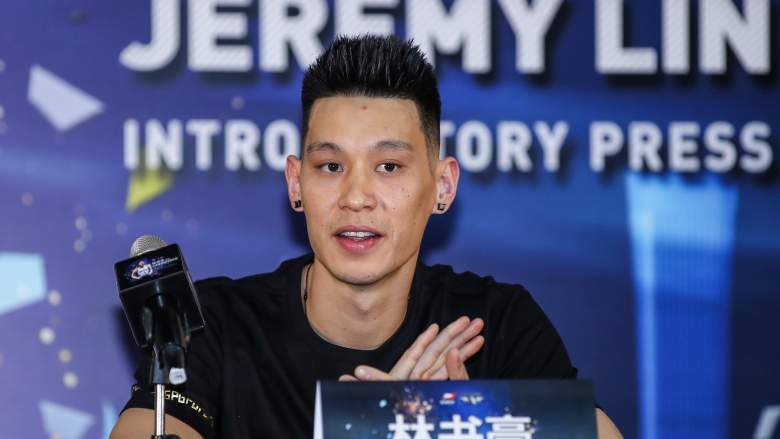 Jeremy Lin, now with the Warriors' G-League team