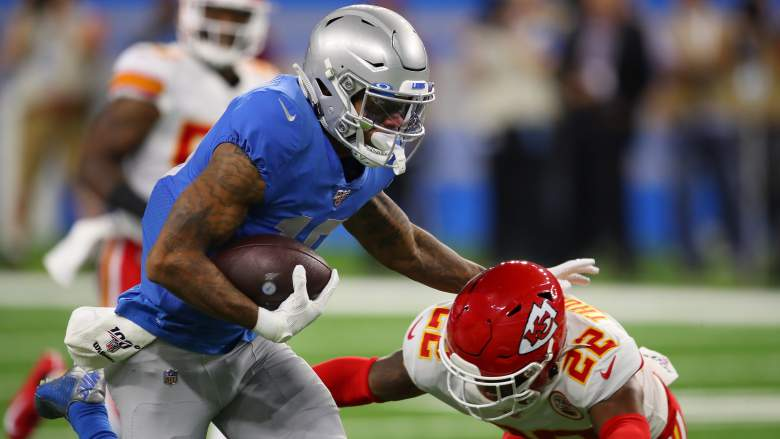 Kenny Golladay Lions Chiefs