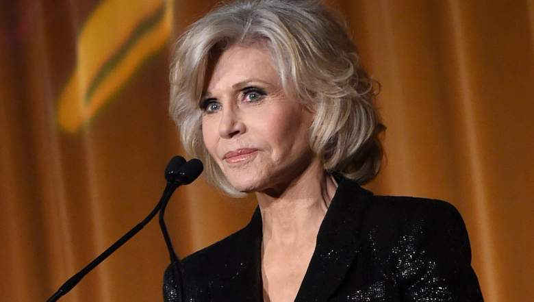 """Jane Fonda speaks at """"GCAPP Empower Party to Benefit Georgia's Youth"""""""