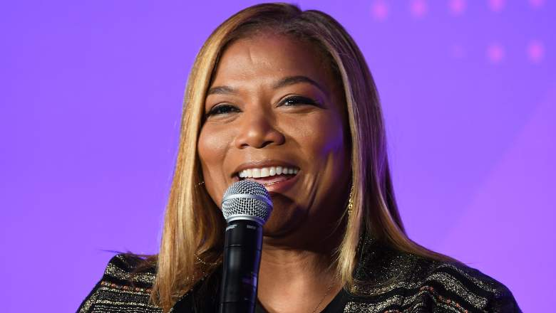 Queen Latifah speaks onstage during ESSENCE + New Voices Entrepreneur Summit