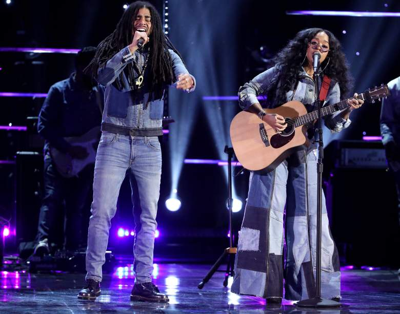 Skip Marley and H.E.R. perform onstage during the 51st NAACP Image Awards