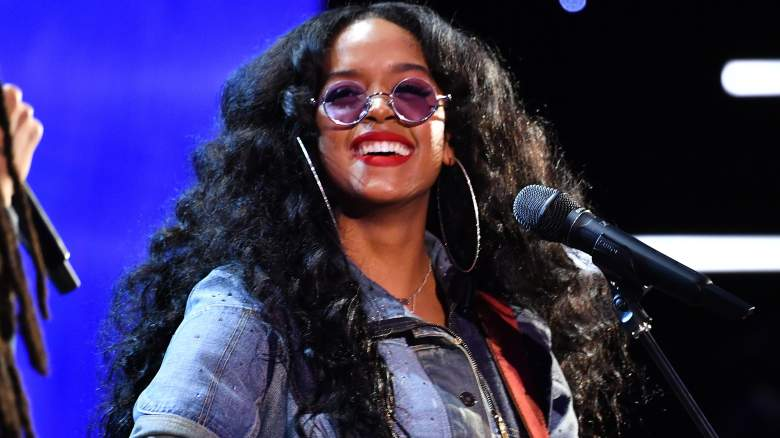 H.E.R. performs onstage during the 51st NAACP Image Awards