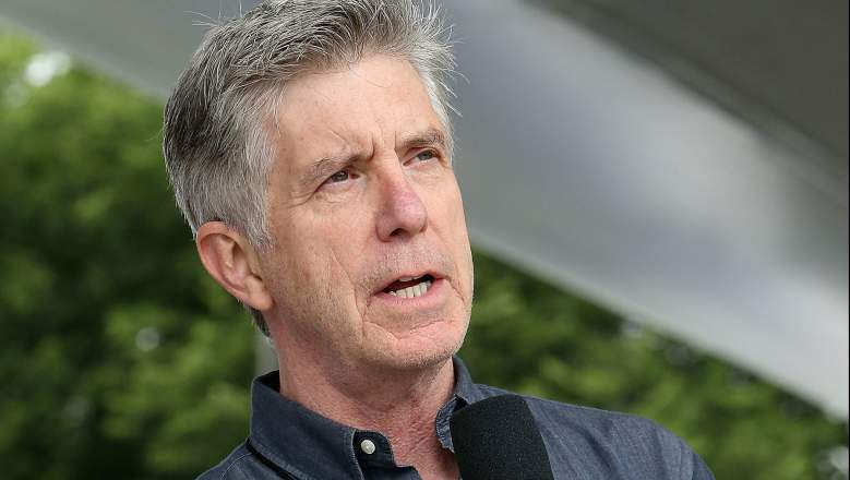 Show host Tom Bergeron onstage during A Capitol Fourth