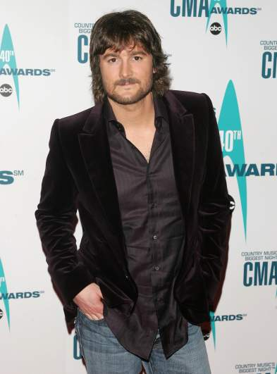 Eric Church without sunglasses