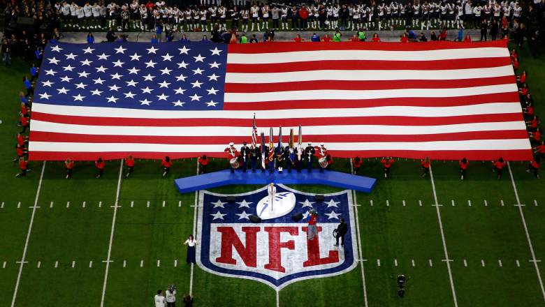 The National Anthem at Super Bowl LII