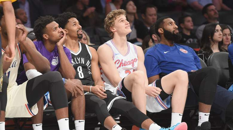 Buddy Hield, Spencer Dinwiddie, Lauri Markkanen, Andre Drummond
