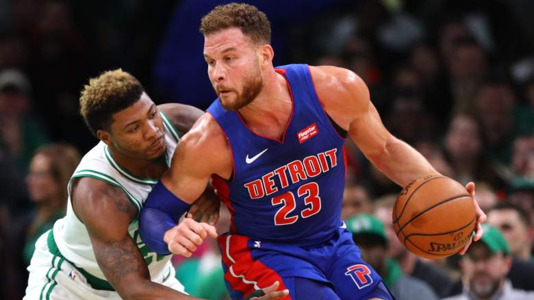 Blake Griffin and Marcus Smart