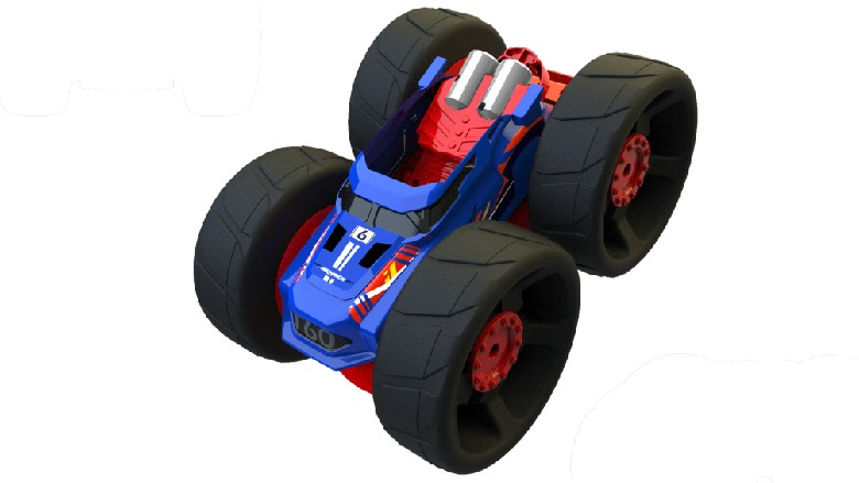 Spin Master' new Jump Fury remote-controlled car