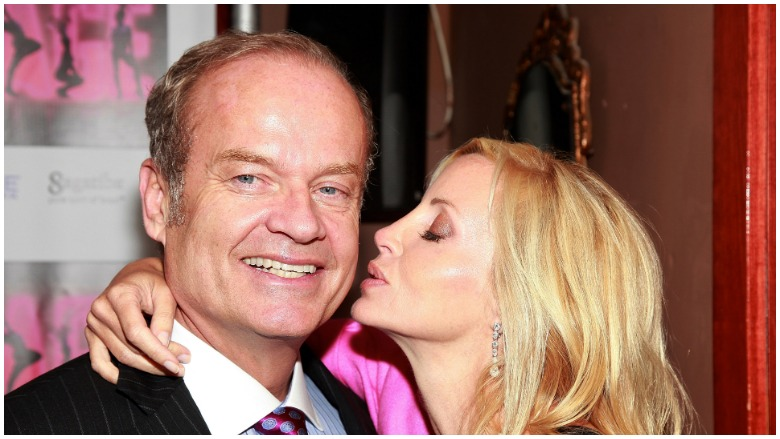 Kelsey Grammer and Camille Donatacci Grammer