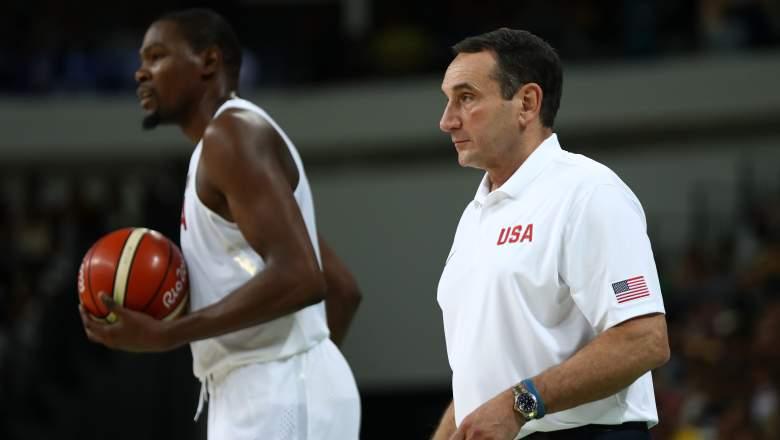 Kevin Durant Coach K