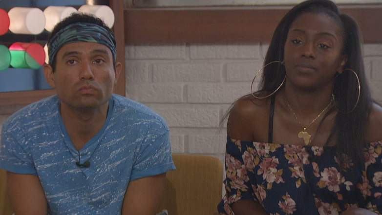 Kevin Campbell and DaVonne Rogers on Big Brother