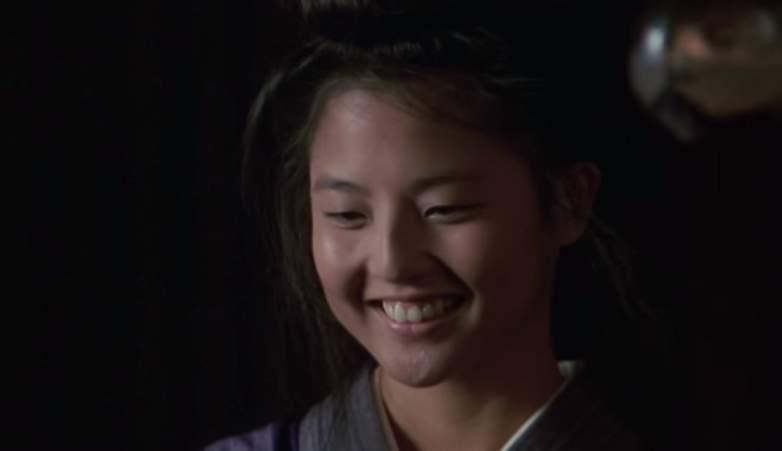 "Tamlyn Tomita as Kumiko in ""Karate Kid Part II"""