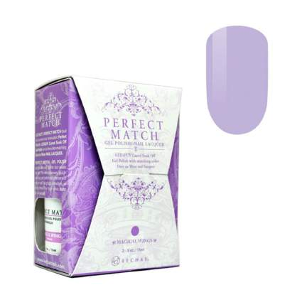 Light purple Perfect Match box of polish