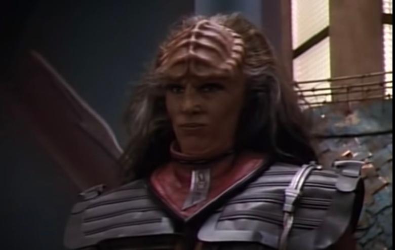 Barbara March as Lursa Duras in Star Trek The Next Generation