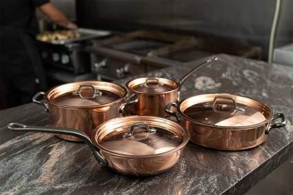 Matfer Bourgeat Copper Cookware