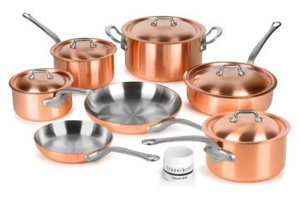 Mauviel Copper Cookware Set