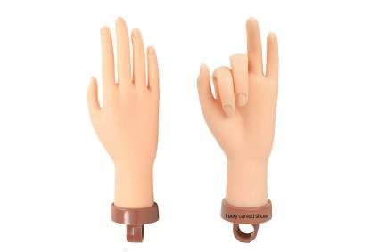 Rubber flexible practice hand