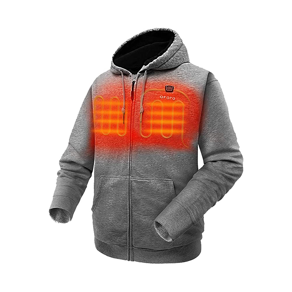 ORORO 2021 Womens Heated Vest with Battery Electric Fleece Vest Base Layer