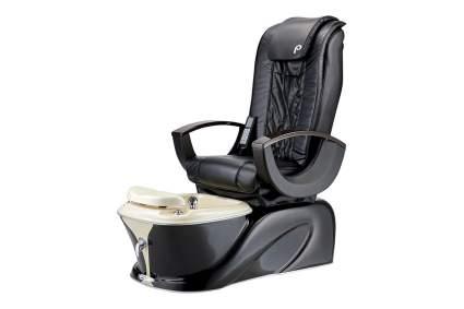 Black Pibbs Siena pedicure throne