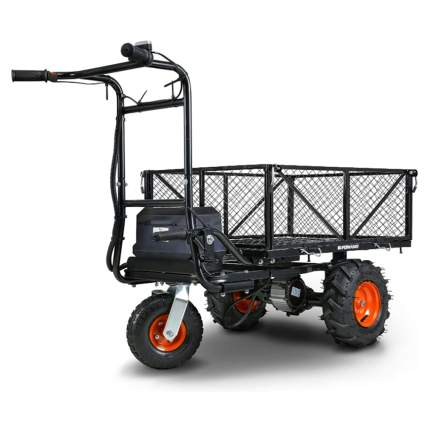 electric powered garden cart