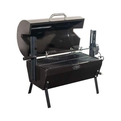 TITAN GREAT OUTDOORS Small Rotisserie Chicken Roaster Grill