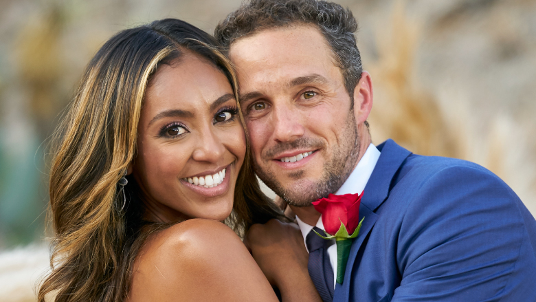 Tayshia Adams and Zac Clark on 'The Bachelorette.'