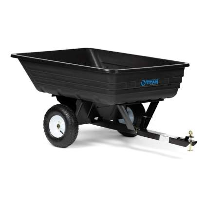 dump cart for lawn tractor