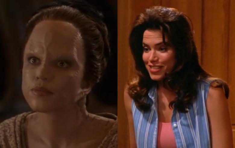 Melanie Smith as Tora Ziyal in Star Trek Deep Space Nine and Rachel Goldstein in Seinfeld
