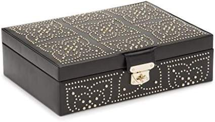 Black box with intricate stud accents