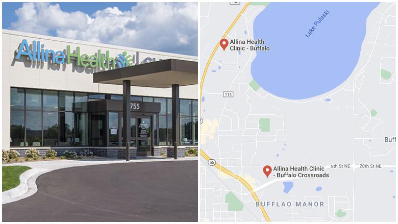 allina health center shooting