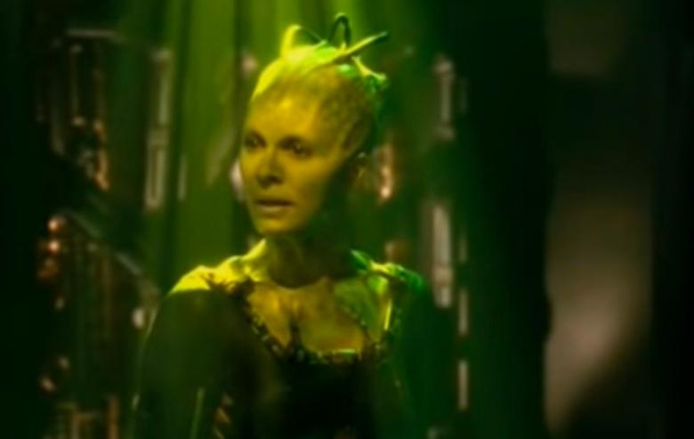 Susanna Thompson as the Borg Queen in Star Trek Voyager
