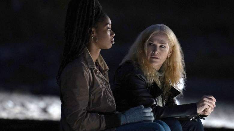 Kelcey Mawema and Kim Delaney star in The Long Island Serial Killer