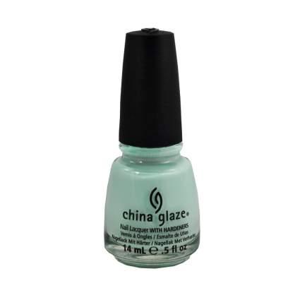 Mint China Glaze nail polish bottle
