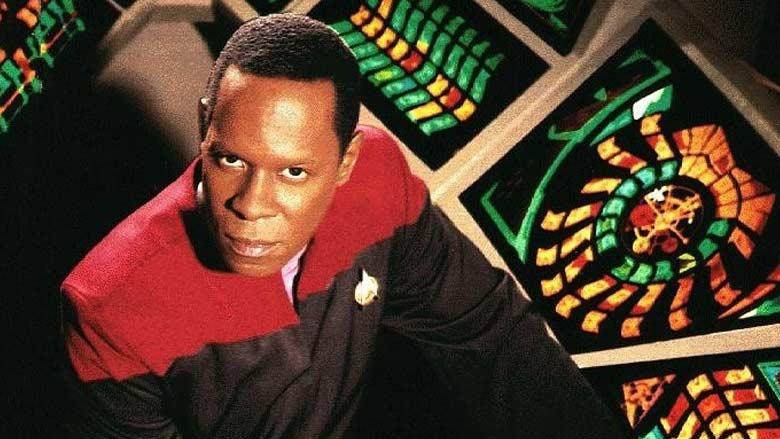 Avery Brooks as Commander Sisko on Deep Space Nine