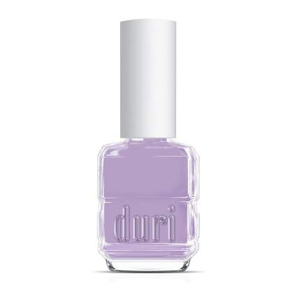 Bottle of pastel lavender Duri nail polish