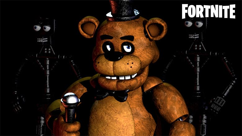 five nights at freddys fortnite