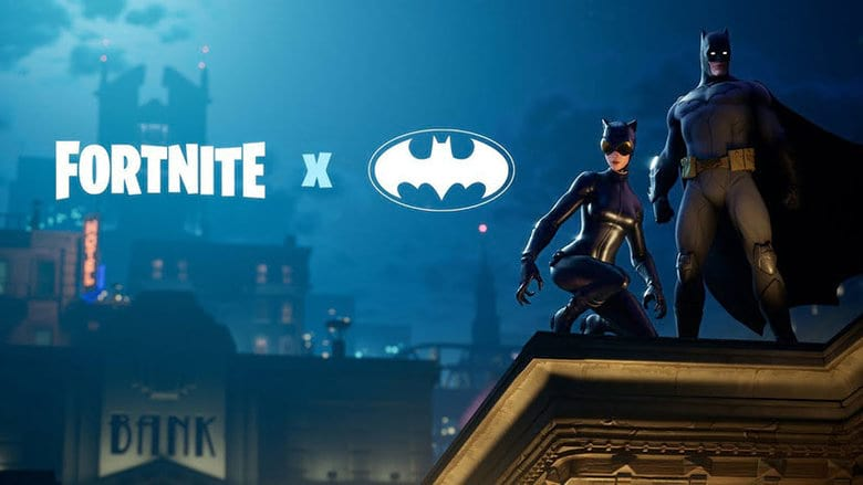fortnite batman comic book