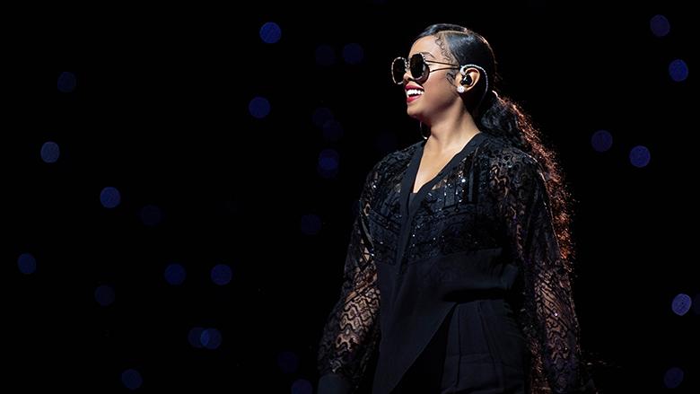 her sunglasses always