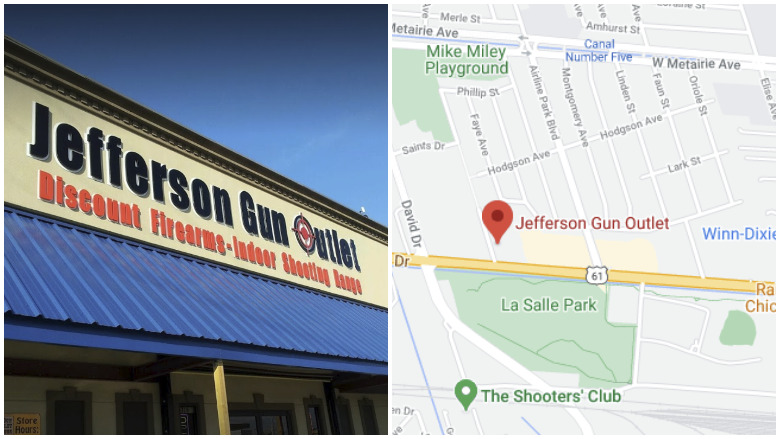 jefferson gun outlet shooting