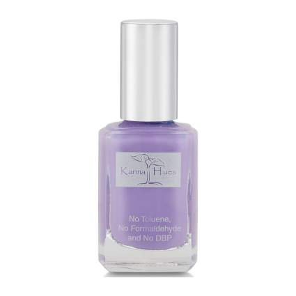 Periwinkle purple nail polish
