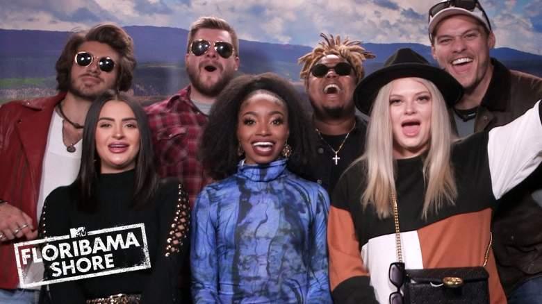 The cast of Floribama Shore season 4